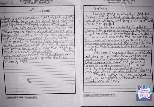 Expository Writing Samples And MORE Texas Teaching Fanatic